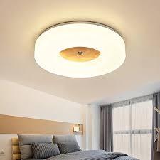 shaoyh nordic schlafzimmer deckenleuchte massivholz kreative