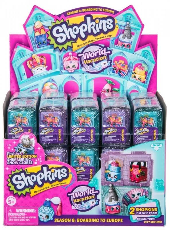 Shopkins Season 8 World Vacation Boarding to Europe - 2 pack