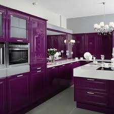 Purple Kitchen Cupboards Best Image Libraries
