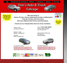 Don's Auto And Truck Salvage Competitors, Revenue And Employees ... Essington Avenue Used Auto Parts Salvage Yard Cash For Cars Truck Maryland Component Services Heavy Fleetpride Home Page Duty And Trailer Auckland Archives For Trucks 4wds Peterbilt 359 Tpi Semi Towing Sales Service And Fleet Com Sells Medium Carolina Llc Sumter Sc 29150 Texas Surplus Buyers Semi Truck Yards Auctions Stb