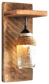 rustic wall sconce light fixture vintage antique industrial bowl