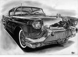 Cadillac Eldorado 1957 Drawing By Alainmi On DeviantArt