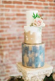 A Modern Meets Rustic Wedding Cake By Rachel At Elise Cakes
