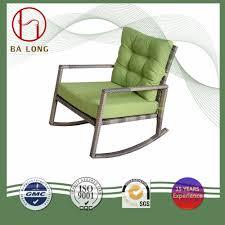 [Hot Item] Leisure Outdoor Garden Ratttan Wicker With Cushion Chair Rocker