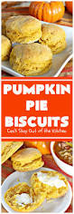 Calories In Libbys Pumpkin Roll by Pumpkin Pie Biscuits Can U0027t Stay Out Of The Kitchen
