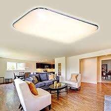 modern 48w kaltweiß led deckenleuchte deckenle wohnzimmer