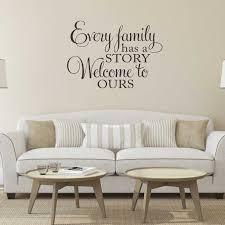 jede familie hat eine geschichte willkommen zu uns vinyl