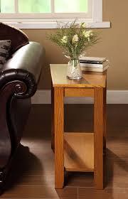 amazon com homelegance 4728ak chair side table oak finish