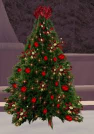 Twinkling Christmas Tree 75 Silver And Red Sale 50 OFF