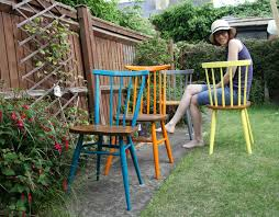 100 Dining Chairs Painted Wood Furniture Makeover Colourful Make Do And Mend