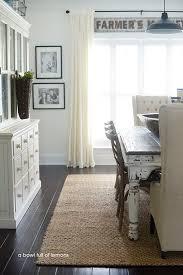 Dining Room Rug Makeover Via A Bowl Full Of Lemons