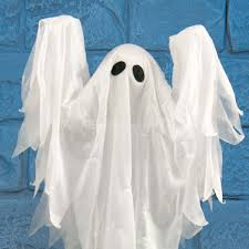 Motion Activated Halloween Decorations Uk by 75cm Halloween Battery Operated Animated Standing Ghost With Sound