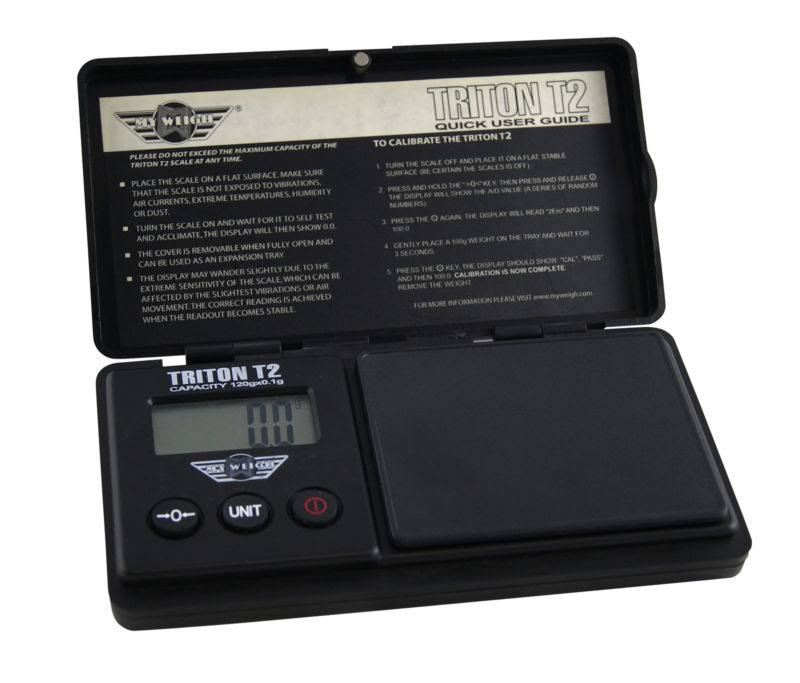 My Weigh Triton T2 Digital Pocket Scale - 120g x 0.1g