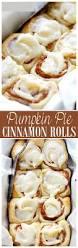 Preparing Pumpkin For Pie Filling by Pumpkin Pie Cinnamon Rolls Recipe Diethood