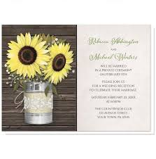 Rustic Sunflower Burlap And Lace Tin Can Reception Only