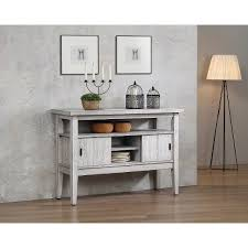 Clearance Distressed White Dining Room Sideboard
