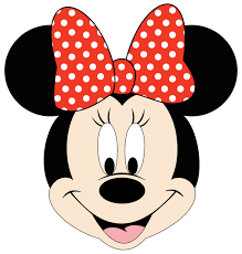 Minnie Mouse Painted Pumpkin by Minnie Mouse Face Clipart Black And White Clipartxtras