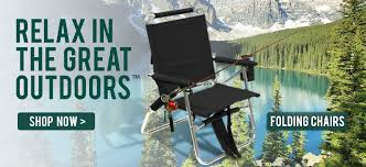 Professional Tall Folding Directors Chair by Outdoor Hiking U0026 Camping Gear World Outdoor Products
