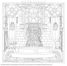 Good Game Of Thrones Coloring Book