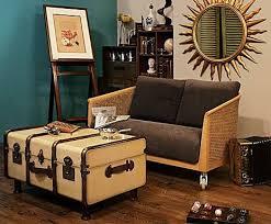 table stateroom trunk truhentisch nautische möbel