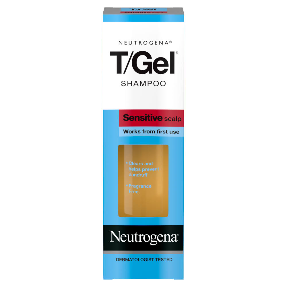 Neutrogena Sensitive Scalp T Gel Shampoo - 125ml