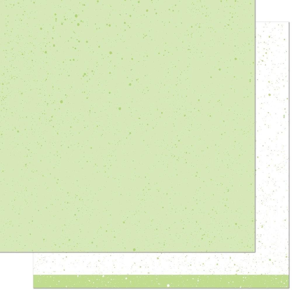 Lawn Fawn Spiffy Speckles Pesto Paper