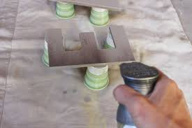 Diy Eat Kitchen Decor Prepare For Spray Painting
