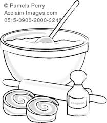 things used for baking clipart & stock photography