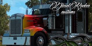 HotRod Skin For KW Mod - American Truck Simulator Mod | ATS Mod