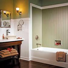Bathroom Beadboard Ideas In Green Farm Themed Bedrooms Color