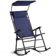100 Navy Blue Rocking Chair Amazoncom Fabric Folding Zero Gravity