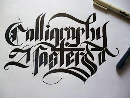 If You Are Thinking Of The Following Examples This Type Writing Is Called Calligraphy