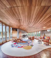 100 Frank Lloyd Wright Houses Interiors Behind Photographer Andrew Pielages Love For