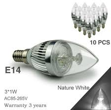 3w led candle light bulb cree led e12 e14 e27 3w led lights led