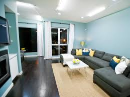 Teal Color Living Room Decor by Natural Nice Design Of The Interior Living Room Design Ideas With