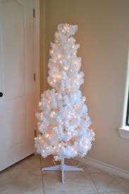 How To Fill Out A White Artificial Christmas Tree Rainbow Ombre Decorations
