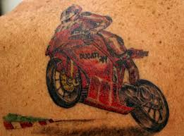 Yamaha Racing Bike Tattoo In 2017 Real Photo Pictures Images And Sketches Collections