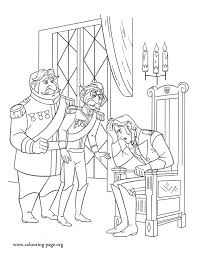 Looks Like Prince Hans Is Worried About Elsas Escape Have Fun Coloring This Amazing Disney Frozen PagesColoring BooksFrozen