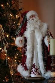 deco figurines reproductions 46 best santas images on santa baby