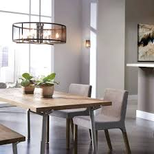 Showy Flush Mount Dining Room Lighting Gorgeous Light Fixture Chandeliers Semi Lights Fixtures