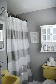 Grey And White Chevron Curtains Walmart by 3 Black And White Horizontal Stripe Shower Curtain Yellow And