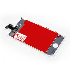 New White Replacement Part LCD and Touch Screen Digitizer Assembly