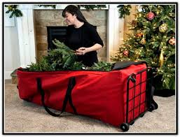 Christmas Tree Storage Tote With Wheels by Christmas Tree Storage Christmas Decor