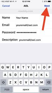 How to Add a New Email Account to iPhone or iPad
