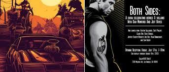 Both Sides An Art Show Celebrating Heroes Villains With Dan Mumford Jeff