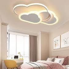 beleuchtung pink led wolke baby schlafzimmer deckenleuchte