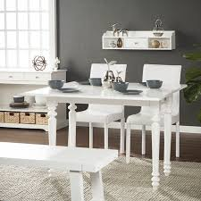 Southern Enterprises Sericco Convertible Desk To Dining Table W Hutch Modern Farmhouse Style