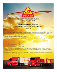 Driver Pay Increase Announcements - Decker Truck Line New Jersey Cdl Jobs Local Truck Driving In Nj Teamsters 25 Charlestown Massachusetts Uerstanding The Pay Scale For Drivers Truckdriverssalarycom Lease Purchase Rti Shale Country Is Out Of Workers That Means 1400 For A Truck Gender Pay Gap The United States Wikipedia Home Delivery Job Lancaster Pa Lancasteronlinecom Several Fleets Announce Increases Drivers Why Do Trucking Companies Hhg Or Zipcode Miles To Multi Positions Gmh Asphalt Cporation Chaska Mn Free Stub Templates Smartsheet