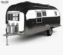 100 Airstream Flying Cloud For Sale Used Travel Trailer 1954 3D Model