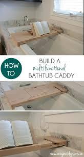 Bamboo Bathtub Caddy With Wine Glass Holder by Bathtub Tray For Reading U2013 Modafizone Co